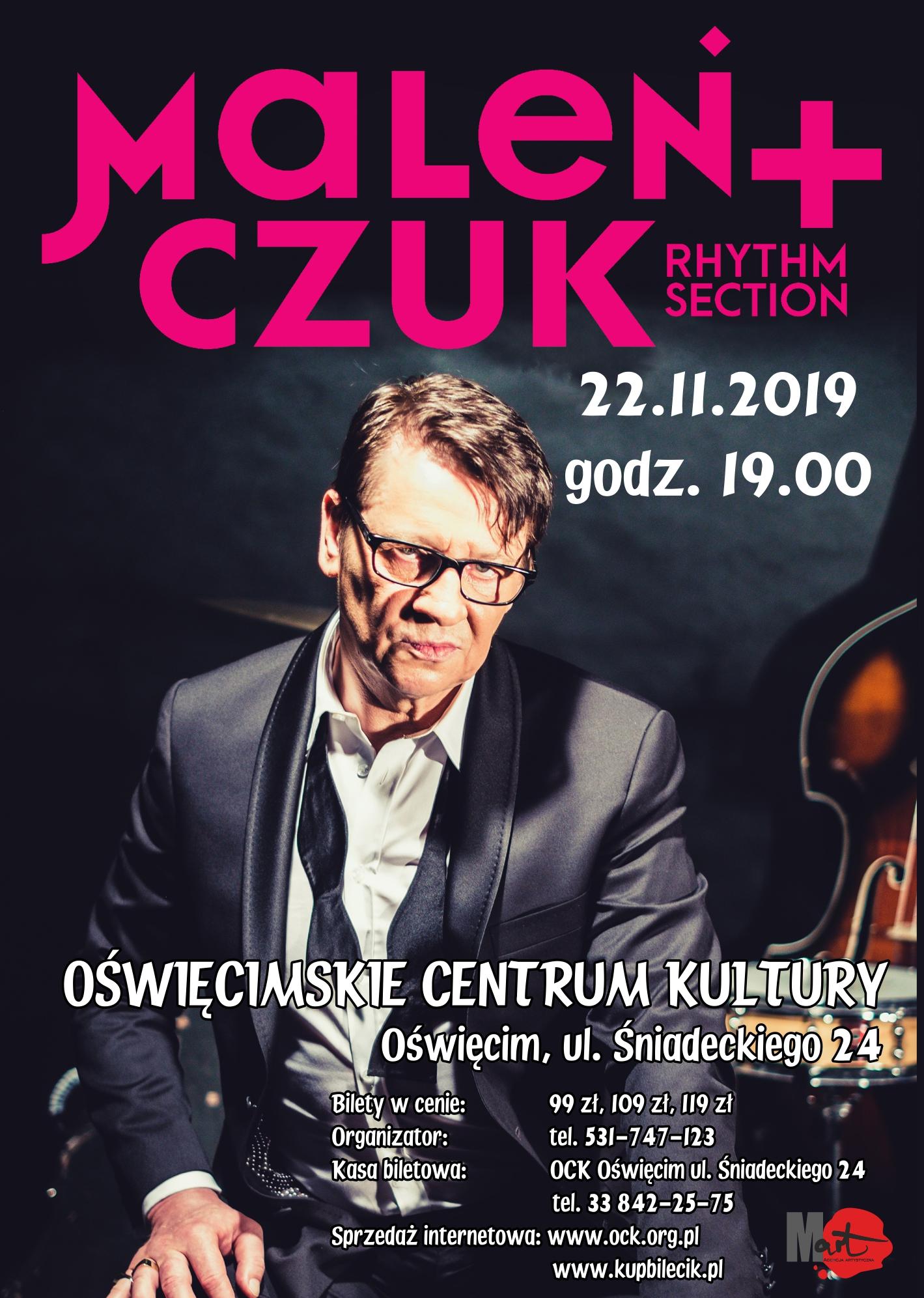 Maciej Maleńczuk koncert OCK Oświęcim