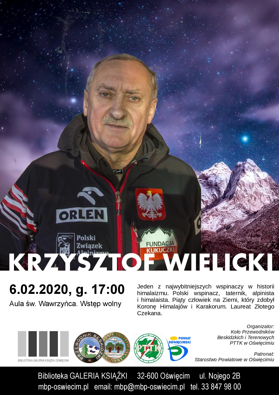 OŚWIĘCIM. Krzysztof Wielicki odwiedzi stolicę powiatu oświęcimskiego