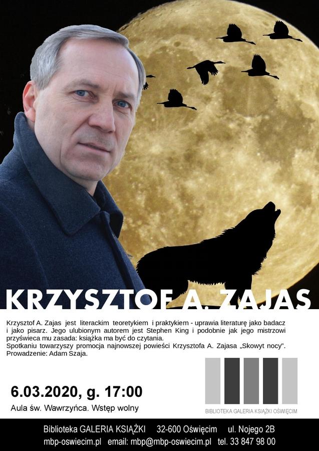 OŚWIĘCIM. Spotkanie autorskie z Krzysztofem Zajasem