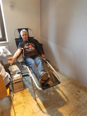 KĘTY. Podczas niedzielnej akcji krwiodawstwa zebrano blisko 17 litrów krwi