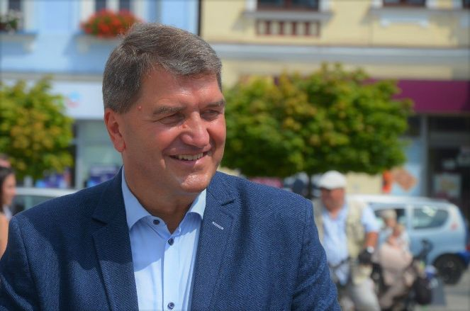 Janusz Chwierut, prezydent miasta Oświęcim.