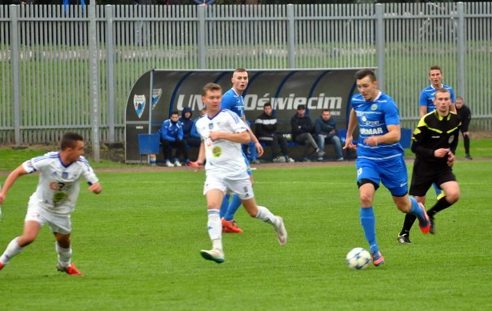 Przed rundą jesienną piłkarze Unii rozegrają przynajmniej sześć gier kontrolnych. Fot. Szymon Chabior