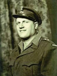 Jonny Lechenich w mundurze żołnierza II Korpusu Polskiego we Włoszech
