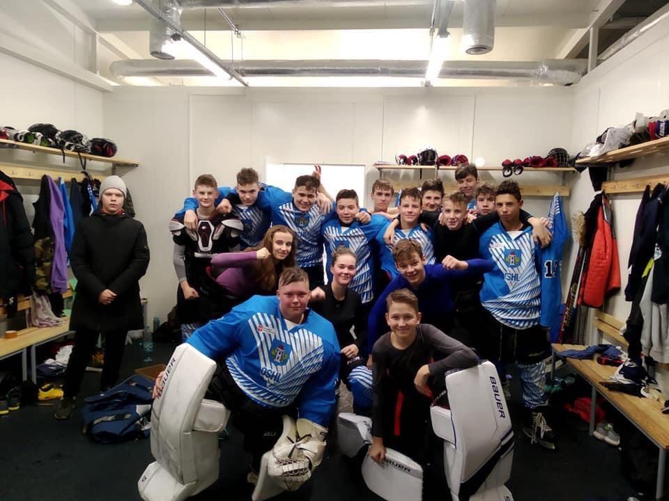 Oświęcim posiada prężnie rozwijający się hokejowy ośrodek szkolenia młodzieży. Fot. zbiory UKH Unii