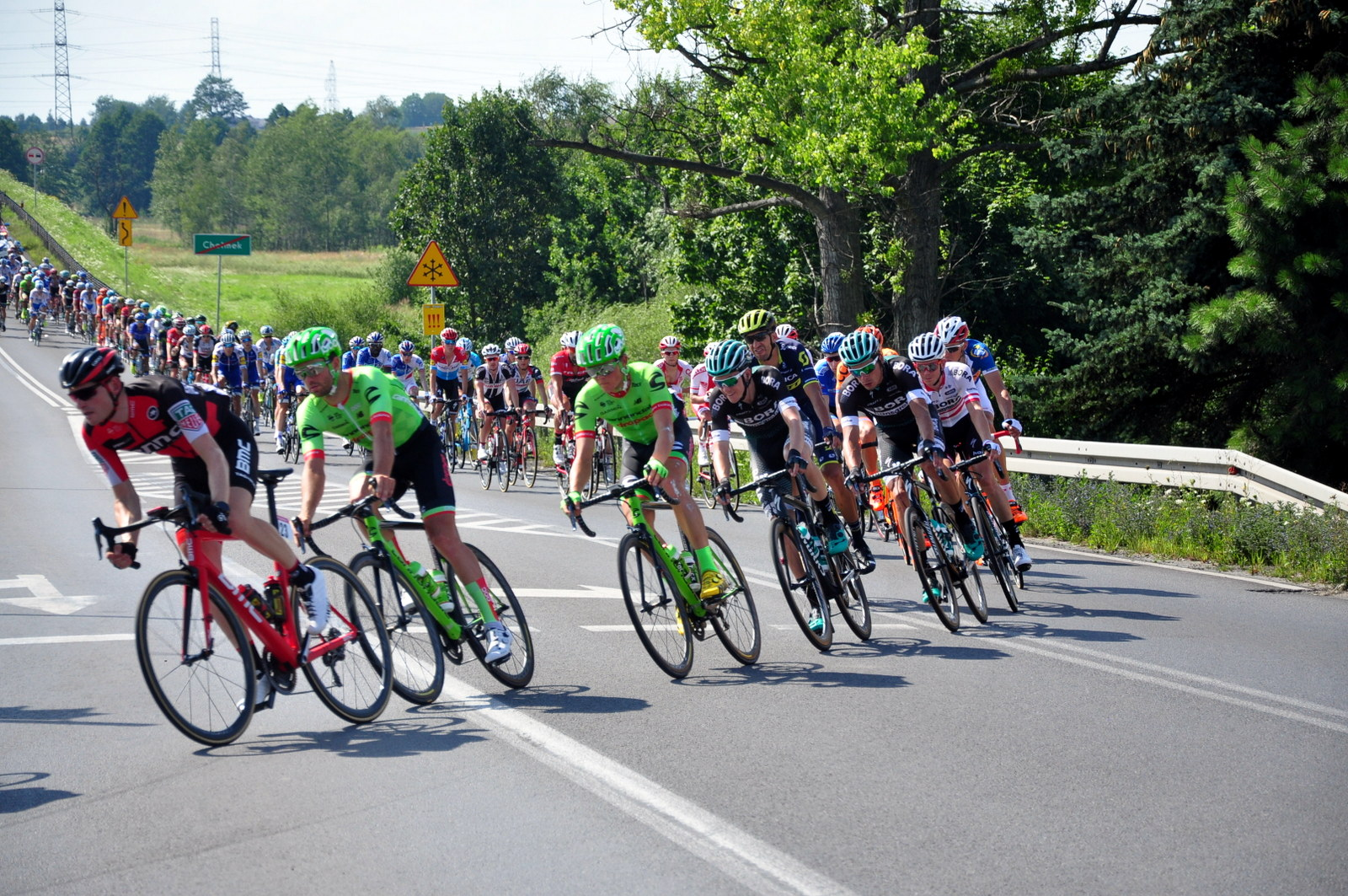5 i 6 września w Osieku o medale mistrzostw Polski powalczą kolarze w kilkunastu kategoriach wiekowych. Fot. Szymon Chabior