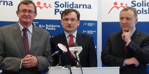 fot. Eurodeputowany Zbigniew Ziobro (w środku)